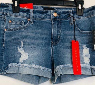 pacas de pantalones vaqueros cortos de mujer por mayoreo