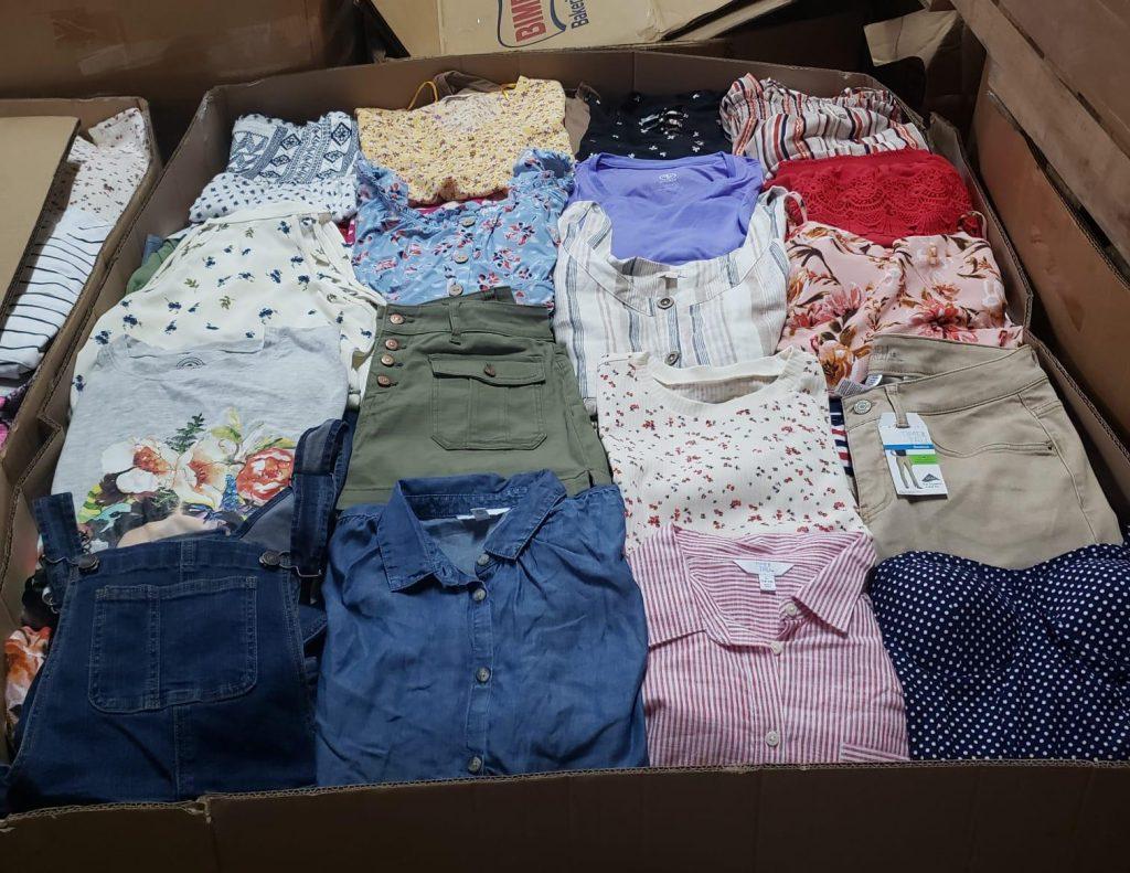 pacas de ropa de mujer por mayor