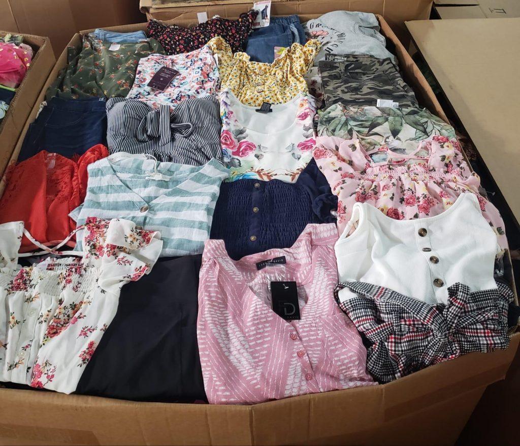 pacas y palets de ropa de mujer al mayoreo