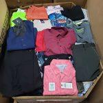 pacas y paletas de ropa de hombre al por mayor